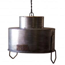 double cylinder metal pendant lamp