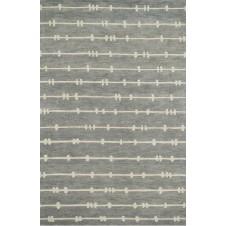 nova collection grey & ivory rug