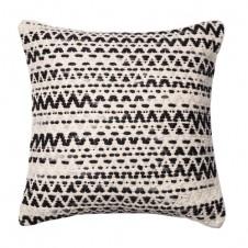 dhurri style chevron multi pillow