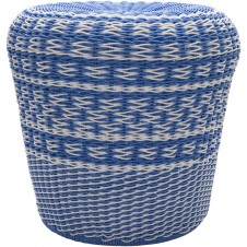 surya parkdale bright blue outdoor stool