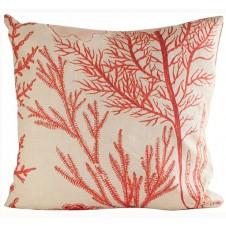 red sea fan pillow
