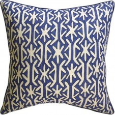 rinca navy pillow