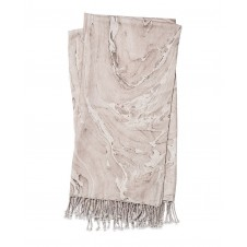 nika beige & brown throw blanket