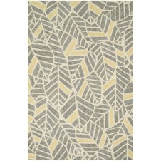 tropez collection grey & gold rug