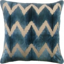 watersedge aqua pillow