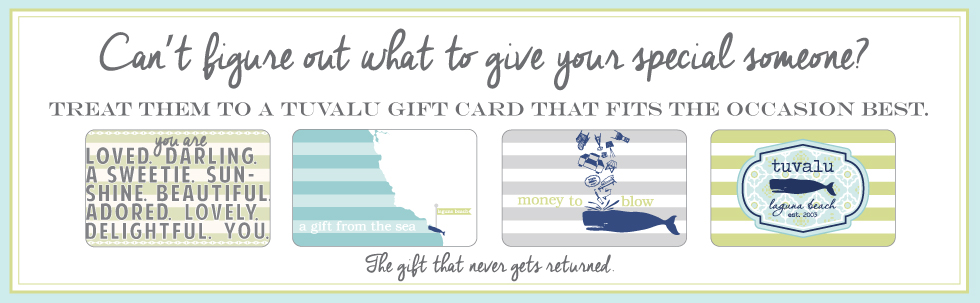 Tuvalu Gift Certificates