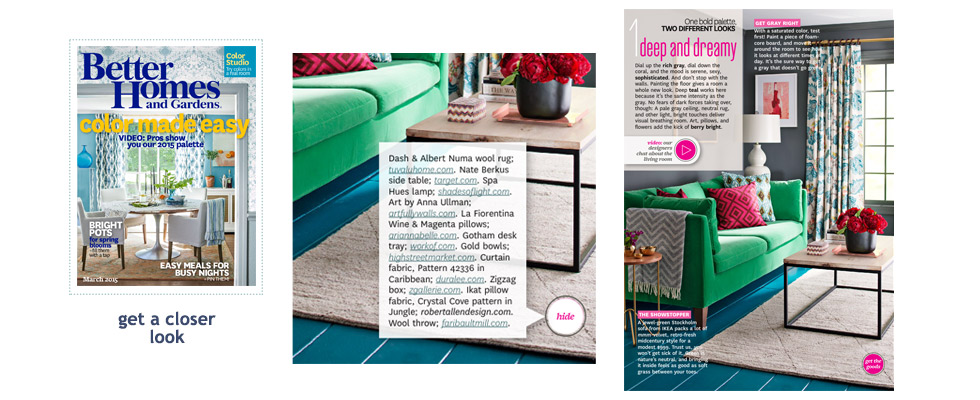 Tuvalu as seen in Better Homes and Gardens March 2015