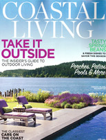 Spotted in Coastal Living April 2015 and available for sale at Tuvalu