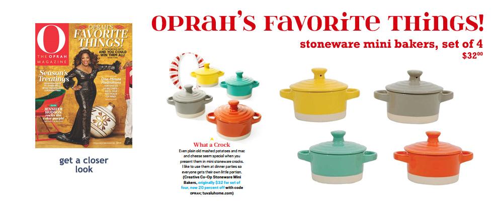 Tuvalu as seen in Oprah Magazine December 2015: Oprah's Favorite Things